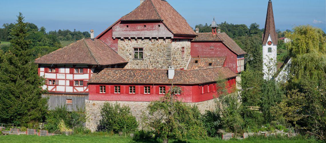 Aussenansicht Wasserschloss Hagenwil 2